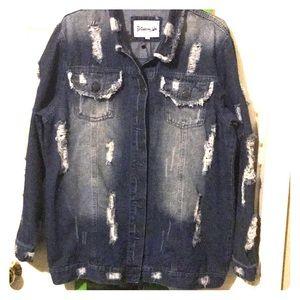 denim jacket 3X